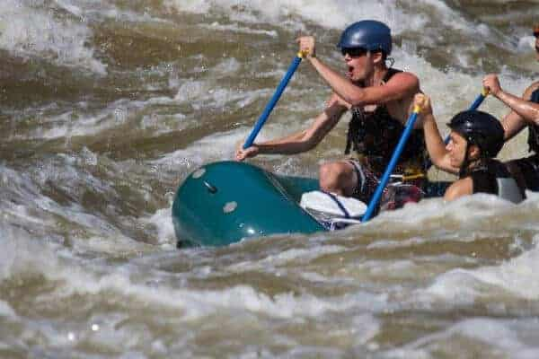Riding the Rapids: White Water Rafting in Namibia