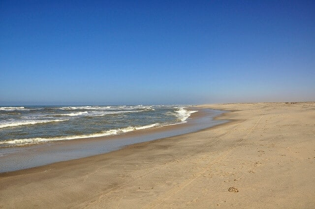 The harsh climate of the Atlantic Coast of Namibia