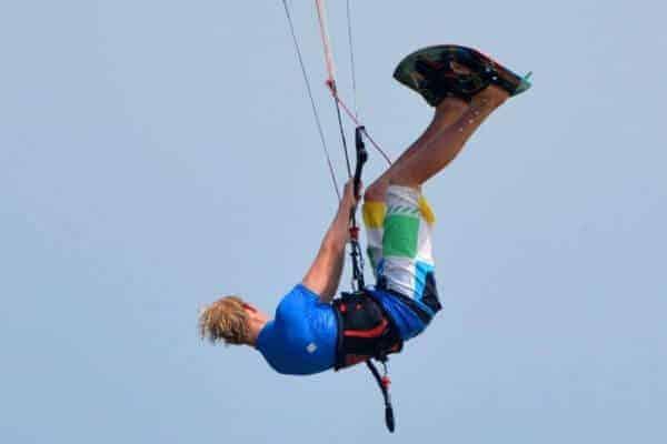 Kitesurfing in Namibia
