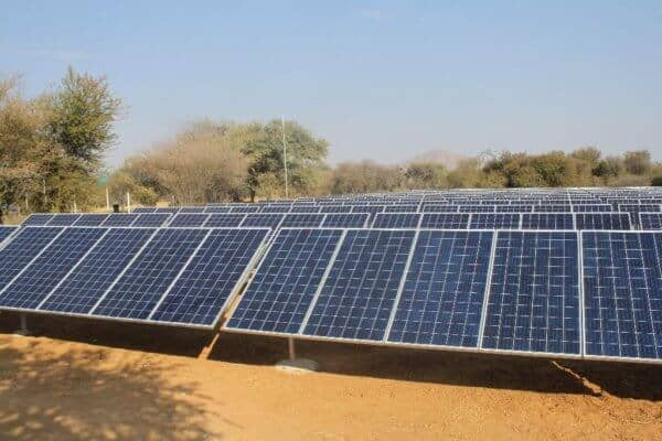 Going Solar at Arebbusch Travel Lodge in Windhoek