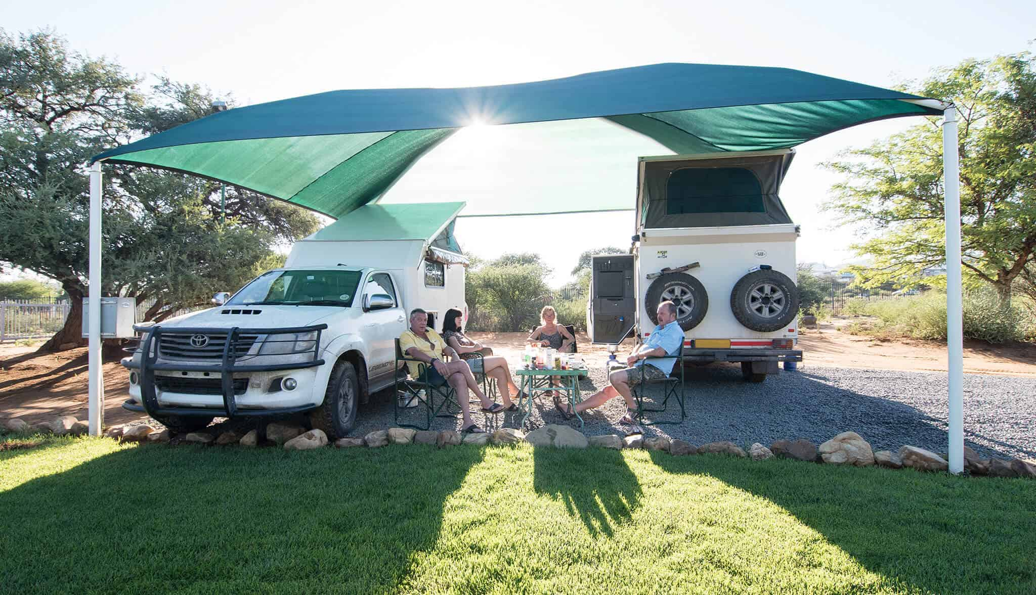 Standard camping & caravanning sites | Camping & caravanning sites in Windhoek | Arebbusch Travel Lodge