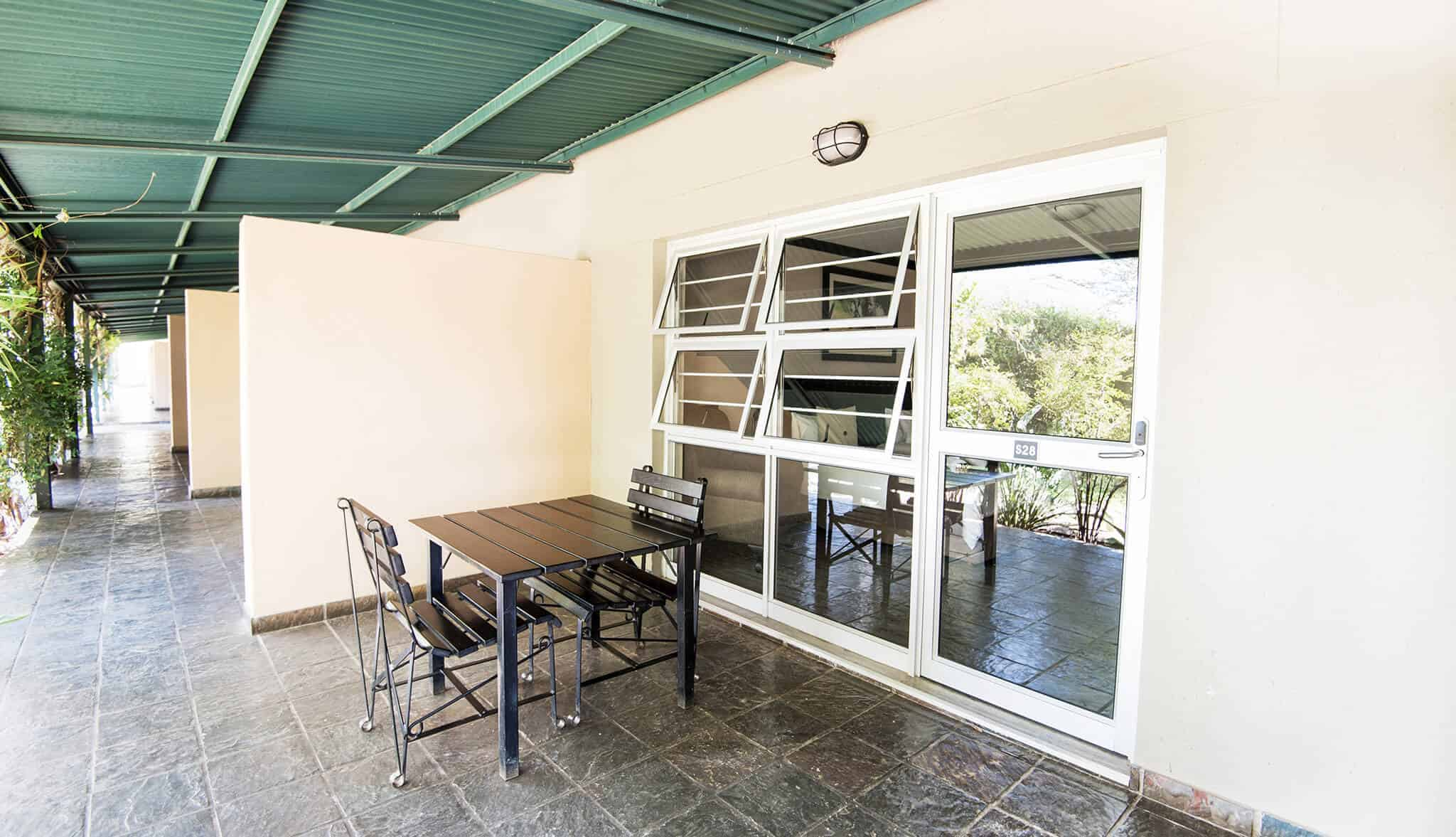 Luxury Room | Patio | Bed & Breakfast Accommodation In Windhoek | Arebbusch Travel Lodge