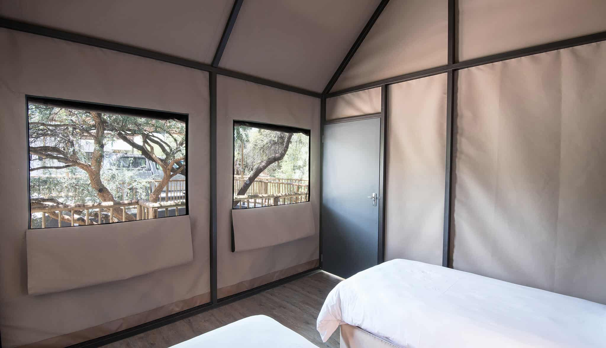 Luxury Tent | Twin | Self-Catering Accommodation In Windhoek | Arebbusch Travel Lodge